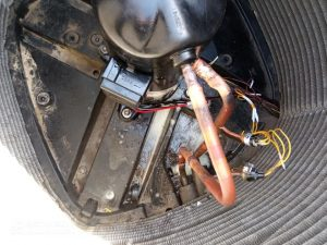 ac compressor change